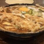 122261416 - 天ぷら入り味噌煮込みうどん