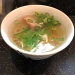 こうてい麺 大ちゃん - ミニ塩ラーメン600円税別