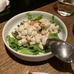 ばる あらら - 白いんげん豆のアリオリサラダ