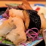 ととや - 白身魚の天麩羅(日替わりランチ)