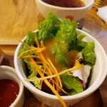 Orange Fields Tea Garden - サラダ