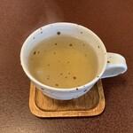 ジャム cafe 可鈴 - 【週替わりランチ(1,050円)】食後のドリンク(「クーリー」というレモングラス系のハーブティー)