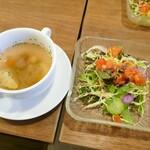 122266537 - スープとサラダ