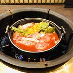 122268811 - 韓国チゲ風すき焼