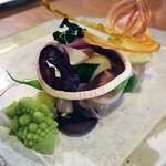 LeAnn - 冬野菜と北寄貝のサラダ