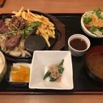 いちげん - ステーキ御膳(1500円)