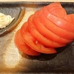 ヤキトリハウス 平安郷 - 冷やしトマト