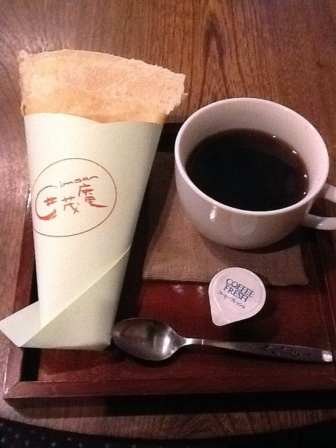 囲茂庵 - チョコカスタード(¥350)