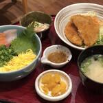 どんぶり居酒屋 喜水丸 - 料理写真:海鮮丼のセットメニュー