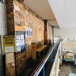 氷見 魚市場食堂 - 2階の入口
