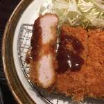 Tonkatsumaisen - 肉厚でしかも柔らかい