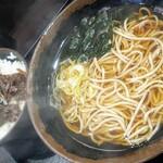 峠の蕎麦 - 料理写真:どて丼セット680円