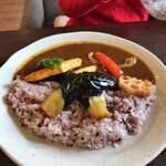 華カリ ジンジャー - 野菜カレー