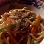 モンゴルレストラン シンキロー - 焼きうどん