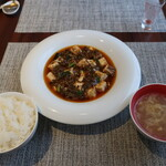 122292527 - 黒毛和牛麻婆豆腐ランチ