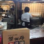 居酒屋 葉牡丹 - 店内は妙齢のご婦人がキビキビと働いてます