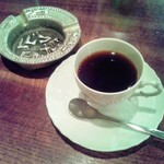 COFFEE HALL くぐつ草 - セットのコーヒー