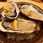 うお輝 - 岩手県の牡蠣は身が肉厚でめちゃくちゃクリーミーです