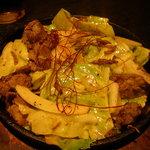 ブタリアンレストラン - ハラミキャベツ¥650