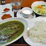 インド亭 - サグキーマカレー