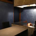 鉄板焼 たまゆら - 焼き手を独占できる半個室