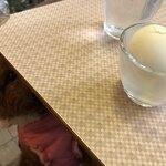 四八珈琲 - 既にゆで卵を狙っている