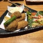 旬魚菜よし田 - 牡蠣フライ