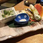 旬魚菜よし田 - 下仁田葱焼き