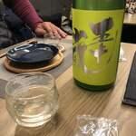Premium Sake Pub GASHUE - 五十嵐 無濾過生原酒 直汲み