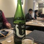 Premium Sake Pub GASHUE - 残草蓬莱 しぼり立て