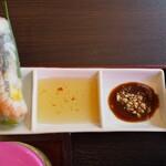 センホンベトナム料理  - 春巻きのタレ