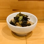 大阪麺哲 - 浅蜊ご飯