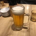 ほくと亭 - 生ビール