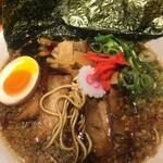 シロマルベース - 中洲BLACKスペシャル (*´ω`*) 紅生姜 麺ミセ