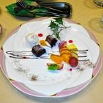 ふらんす厨房 Kei - ガトーショコラとマンゴーアイス