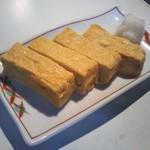 娘天狗 - 料理写真:出汁巻きと違いしっかりした甘めの玉子焼き