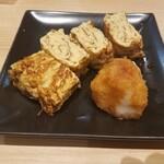 蕎麦きり みよた - 料理写真:出し巻き卵