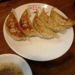 翠葉 - セットの餃子