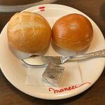 肉の万世 - ランチ パン!