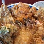 矢吹 - 料理写真:ランチ天丼