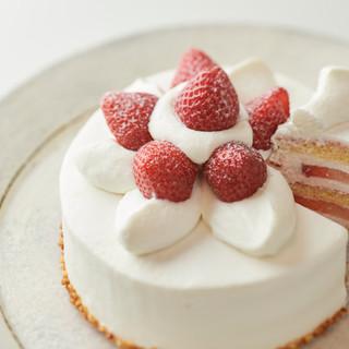 自慢のストロベリーショートケーキ