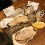 オストレア oysterbar&restaurant - 生ガキ