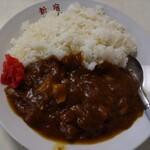 新宿 - 料理写真:カレーライス  600円