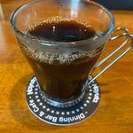 ナユタ食堂 - ホットコーヒー。