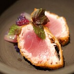 SECRETO - 能登寒ぶり・紫白菜・富士山の薪・塩ポン酢