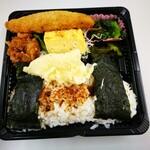 弁太 - 料理写真:のり&から揚げ弁当 430円