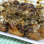 たこ焼きのたこ吉 - 料理写真:たこ焼きソースマヨ6個入り400円