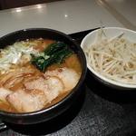 つけ麺 桜みち - 黒味噌ラーメン+もやし