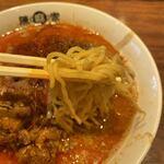 四川麻辣坊陳麻家 - 料理写真:麺は若干やわめ