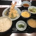 おいしい寿司と活魚料理 魚の飯 - 天ぷら定食
